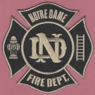 Notre Dame University Indiana Fire Rescue Patch