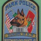 Westmoreland County Pennsylvania Park Police K-9 Unit Patch