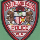 Fruitland Park Florida Police Patch