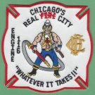 Chicago Fire Department Engine Company 116 Fire Patch