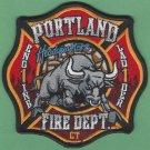 Portland Connecticut Engine 1 Ladder 1 Company Fire Patch
