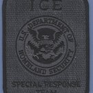 ICE Immigration and Customs Enforcement SRT Patch GRAY