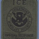 ICE Immigration and Customs Enforcement SRT Patch GREEN