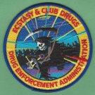 DEA Drug Enforcement Administration Ecstacy & Club Drugs Unit Patch