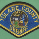 Tulare County Sheriff California Police Patch