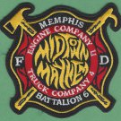 Memphis Fire Department Engine Company 11 Patch New