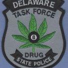 Delaware State Police Drug Task Force Patch