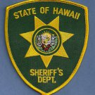 Hawaii State Sheriff Police Patch