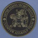 United States Secret Service Counter Assault Team Patch