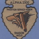 Alpha 2300 Shadow Wolf ICE Tribal Fugitive Tracking Police Patch