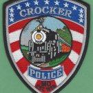 Crocker Missouri Police Patch Locomotive