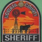 Nowata County Sheriff Oklahoma Police Patch
