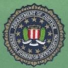"FBI Federal Bureau of Investigation DOJ Seal Patch 3.25"" Metallic Gold"