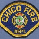 Chico California Fire Rescue Patch