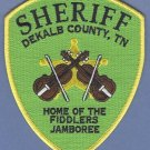 Dekalb County Sheriff Tennessee Police Patch