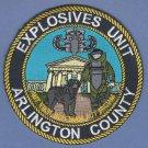Arlington County Virginia Police Bomb Squad Patch