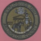 Arlington County Virginia Police Bomb Squad Tactical Patch