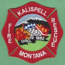 Kalispell Montana Fire Rescue Patch
