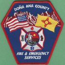 Dona Ana County New Mexico Fire Rescue Patch