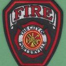 Porterville California Fire Rescue Patch