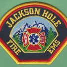 Jackson Hole Wyoming Fire Patch