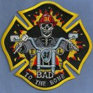 Houston Fire Department Station 31 Company Patch Bad to the Bone