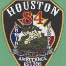 Houston Fire Department Station 84 Company Patch