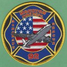 Houston Fire Department Station 92 Airport ARFF Patch
