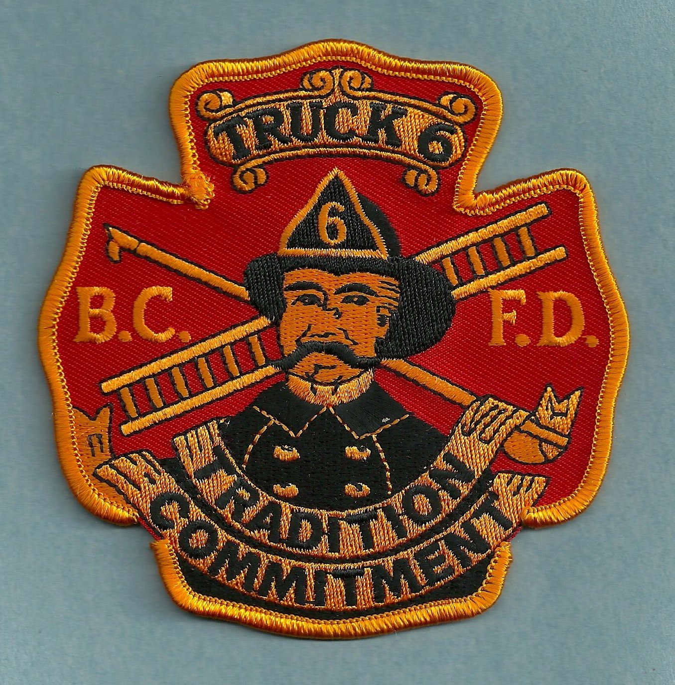 Baltimore City Fire Department Truck Company 6 Fire Patch