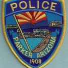 Parker Arizona Police Patch