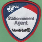 Montreal Police Stationnement Agent Patch