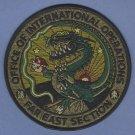 DEA Drug Enforcement Administration Far East Asia International Operations Patch