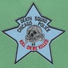 Detroit Michigan Police Death Squad Patch