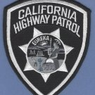 California Highway Patrol Police Patch Tactical Black
