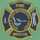 Gerald R. Ford International Airport Fire Rescue Patch ARFF
