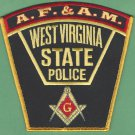 West Virginia State Police Masonic Lodge Patch