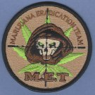 DEA Drug Enforcement Administration Marijuana Eradication Team Patch