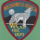 Wilderness Ranch Idaho Fire Department