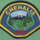 Chehalis Washington Fire Department Patch