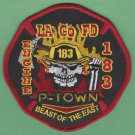 Los Angeles County Fire Department Engine Company 183 Patch