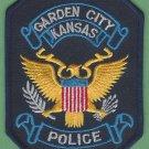 Garden City Kansas Police Patch