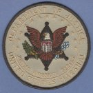 """United States Marshal-Department of Justice Police Patch 4"""""""