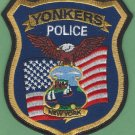 Yonkers New York Police Patch NEW STYLE