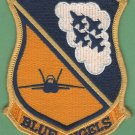 United States Navy Blue Angels Flight Demonstration Squadron Patch