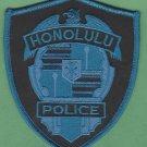 Honolulu Hawaii Police Patch Tactical Blue