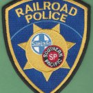 Santa Fe-Southern Pacific Railroad Joint Police Patch