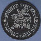 United States Secret Service Counter Assault Team Patch Black