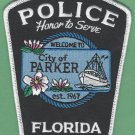 Parker Florida Police Patch