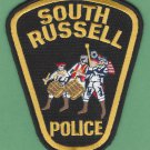 South Russell Ohio Police Patch