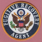 United States Fugitive Recovery Agent Patch